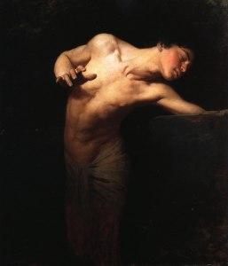 Narziss (Gyula Benczúr, 1881, Ungarische Nationalgalerie, Budapest)